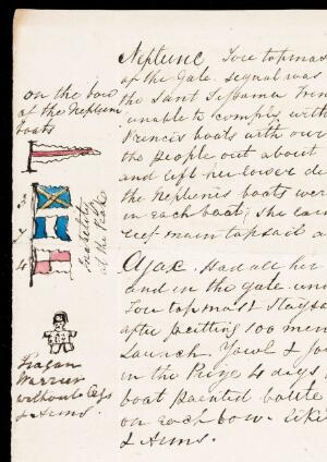 view Illustrations of Naval signal flags