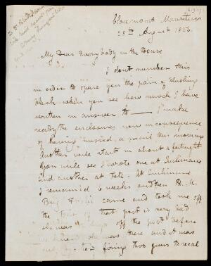 view Letter by David Livingston to his family