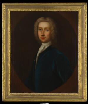 view Robert Whytt. Oil painting by G.B. Bellucci, 1738.
