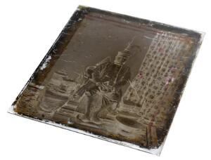 view Glass negative showing King Mongkut of Siam (Thailand)