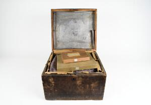 view One of the chests used by photographer John Thomson