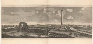 view Illustration showing panorama of Alexandria