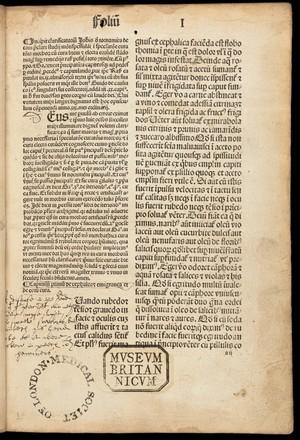 view Page 1: 'Incipit clarificatoriu[m] ioha[n]nis...'