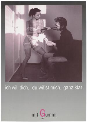 view advertisement for safe sex by Deutsche AIDS-Hilfe