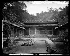 view Pearl River, China. Photograph by John Thomson, 1871.