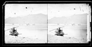 view Wreck at Nang Kai rapids, John Thomson