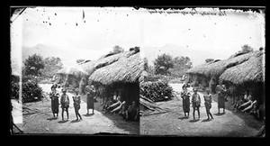 view Hong-Ko's house, Lan-long, Formosa, 1871.