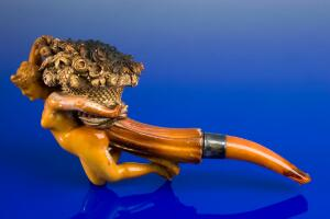 view Meerschaum tobacco pipe, Europe, 1851-1900