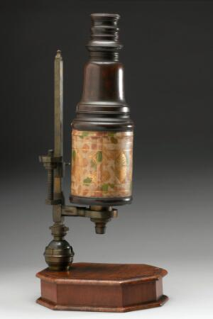 view Compound microscope, England, 1701-1723