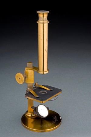 view Compound monocular microscope, Vienna, Austria, 1831-1870