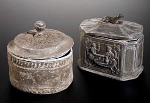 view Tobacco jar, England, 1790-1850