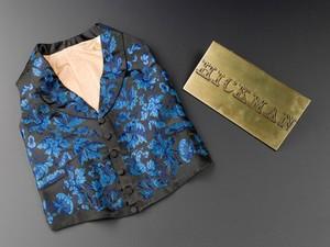 view Henry Hill Hickman's satin waistcoat, Europe, 1820-1830