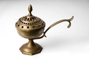 view Brass fumigator, Spain, 1801-1900