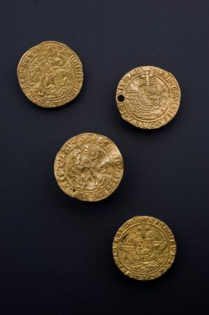 view Touchpiece issued by Henry VII, England, 1485-1509