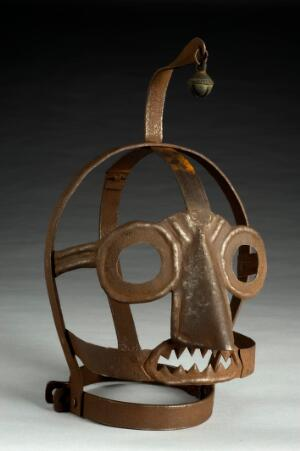 view Scold's bridle, Germany, 1550-1800