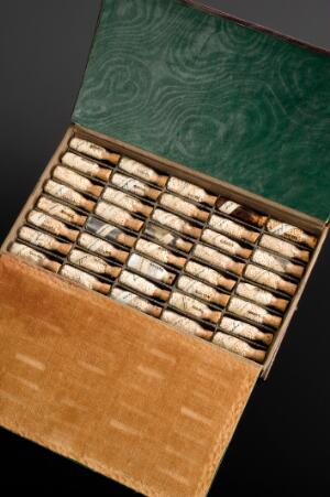 view Homeopathic medicine chest, Europe, 1801-1900