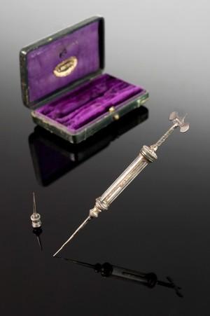 view Hypodermic syringe, Paris, France, 1851-1900