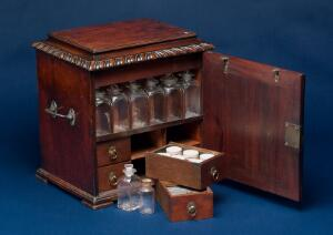 view Sheraton medicine chest, Europe, 1720-1800