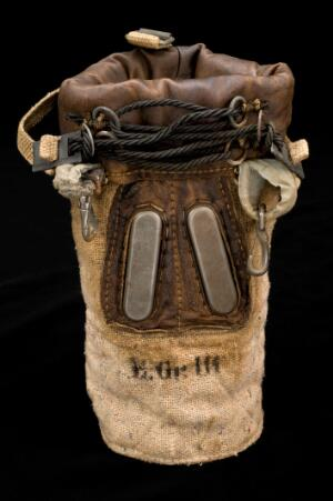 view Gas mask for horses, Germany, 1914-1918