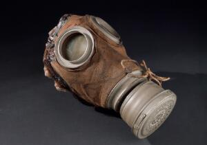 view Gas mask, Germany, 1915-1918