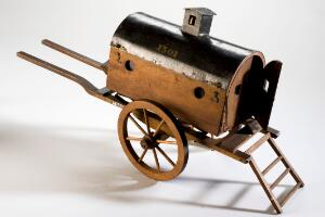 view Model of a 'flying ambulance', Europe, 1801-1850
