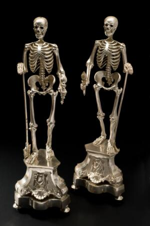 view Silver-plated skeleton, Europe, 1701-1900
