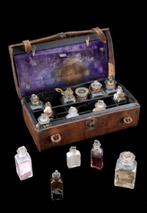 view Medicine chest used by David Livingstone, Europe, 1860-1873
