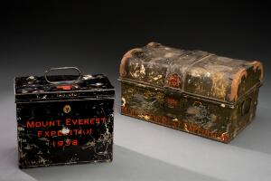 view 'Tabloid' medicine chest used on 1924 Mount Everest Expediti