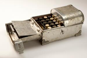 view 'Tabloid' medicine chest used on Dr Hamilton Rice's Amazonia
