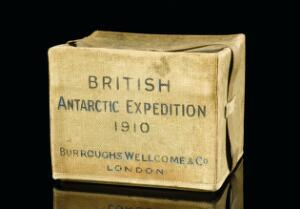 view Medicine chest used on British Antarctic Expedition 1910-1913