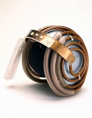 view 'Jedi' helmet, used with Cryogenic Magnetic Resonance Imaging Machine.