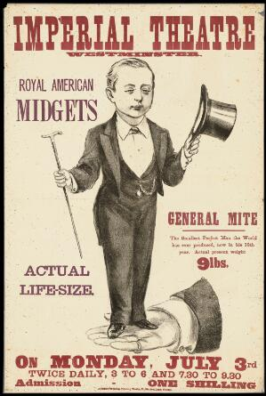 view Poster: Imperial Theatre: Royal American Midgets