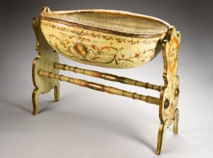 view Rocking cradle on stand, Italy, 1600-1750