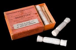 view Anaesthetic inhalation ampoules, Edinburgh, Scotland, 1935-1