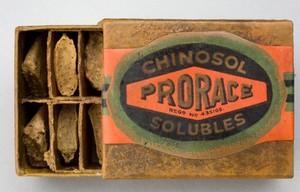 view Spermicidal Pessaries, 'Prorace' brand, London, England, 192
