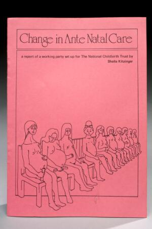 view Booklet, titled, 'A change in Ante Natal Care, England, 1981