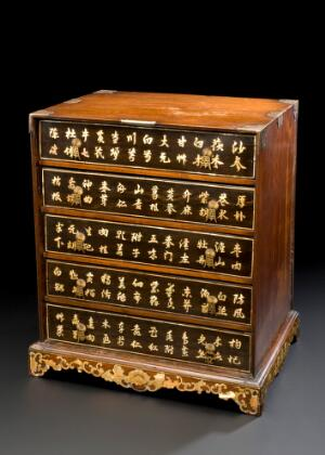 view Medicine chest, China, 1801-1985