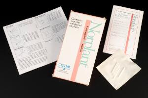 view Packet of Norplant Contraceptive Implants, Middlesex, Englan