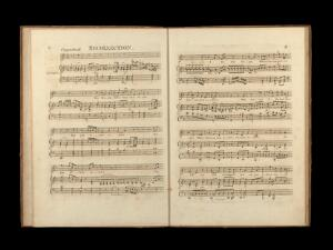 view Dr. Haydn's VI original canzonettas : for the voice with accompaniment for the pianoforte dedicated to Mrs John Hunter.