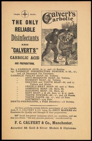view Advert for Calvert's Carbolic Acid