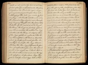 view Surgical lectures; notes taken by an unknown student, probably at St. Bartholomew's Hospital, London. Date uncertain, probably c.1815 (paper is watermarked 1810).
