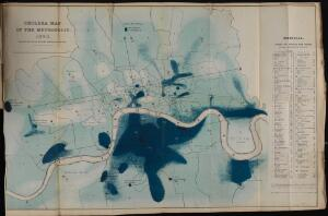 view Cholera Map of the Metropolis 1849