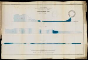 view Cholera map showing intensity of cholera attack in sections