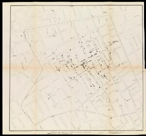 view A map taken from a report by Dr. John Snow