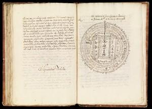 view Clavicula, in Italian and Latin: preceded by 'Tre tavole di Livio Agrippa' (Three works by Livio Agrippa). c.1775