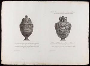 view Sheet showing two etchings by G. B. Piranesi.