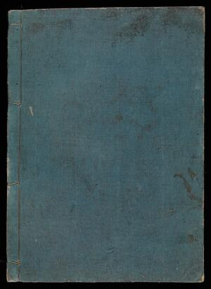 view Cover of Japanese manuscript on smallpox, c. 1720