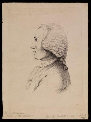 view Barthélemy-Camille de Boissieu. Etching by J.J. de Boissieu.