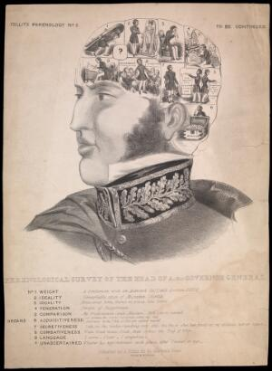 view Pseudo-phrenological survey of Lord Ellenborough