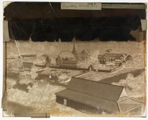 view Ancient capital of Siam 1865. Ayuthia Siam 1865.